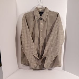 Dockers men's dress shirt L/S size L 16/16.5